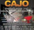 Emplois chez Cajo métallurgie inc.