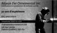 logo Rejean fer ornemental